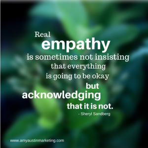 Empathy in healthcare